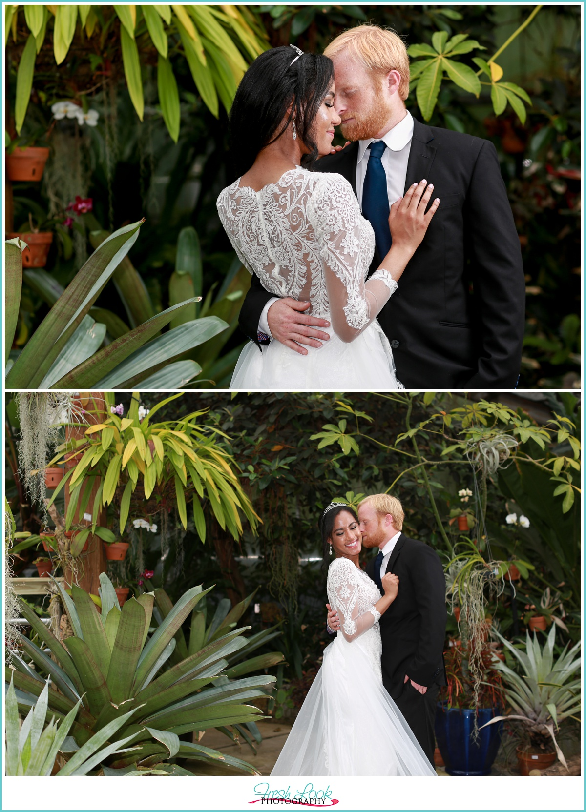 Virginia Wedding at botanical gardens