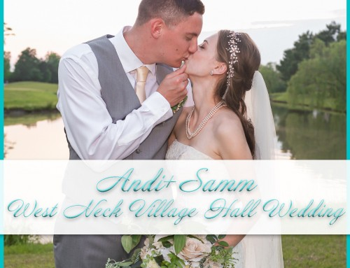 West Neck Village Hall Wedding | Andy+Samm