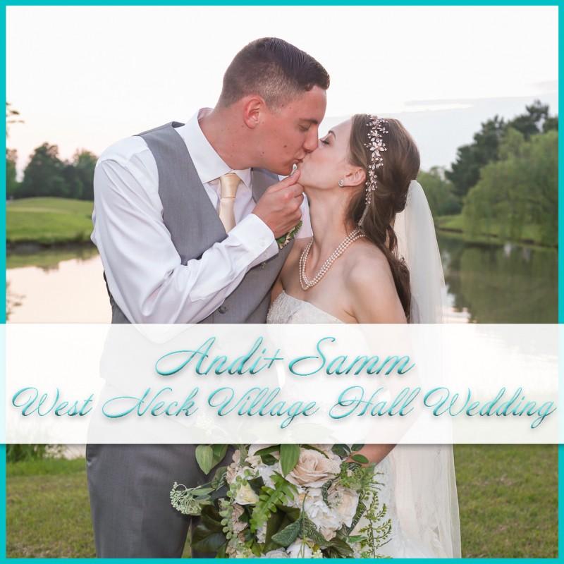 West Neck Village Hall Wedding