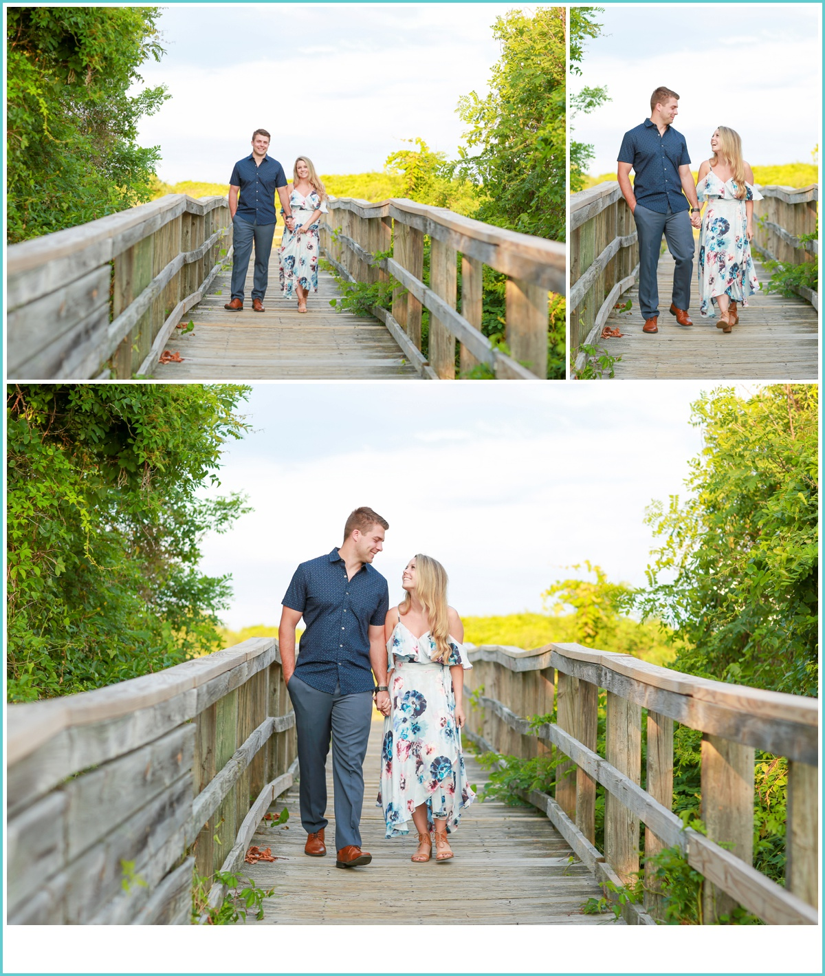Fort Story Engagement Session