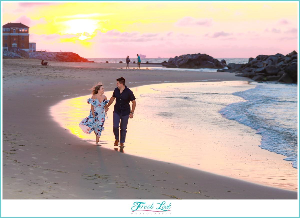 Virginai Beach engagement photographer