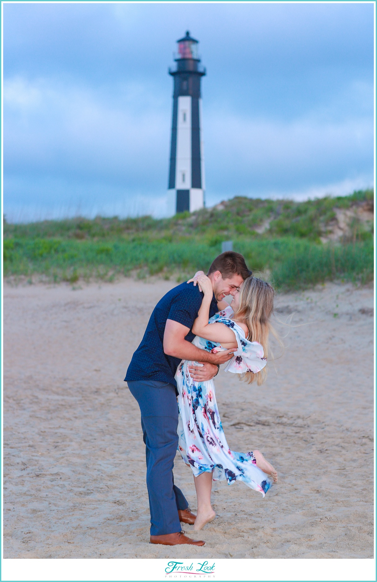 Romantic Fort Story engagement session