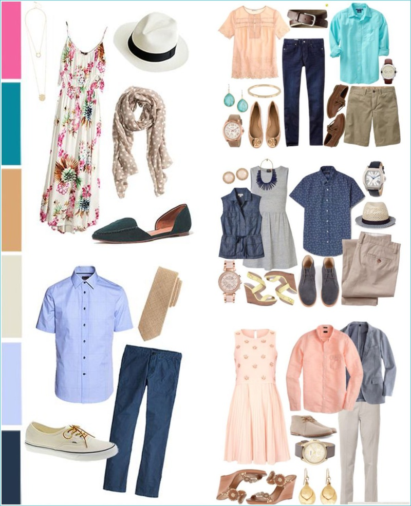 What to wear for summer photos