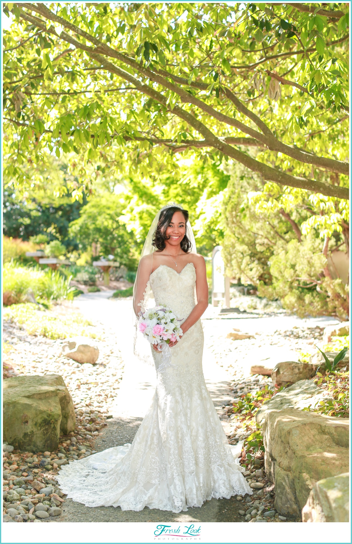Norfolk Botanical Bridal Session