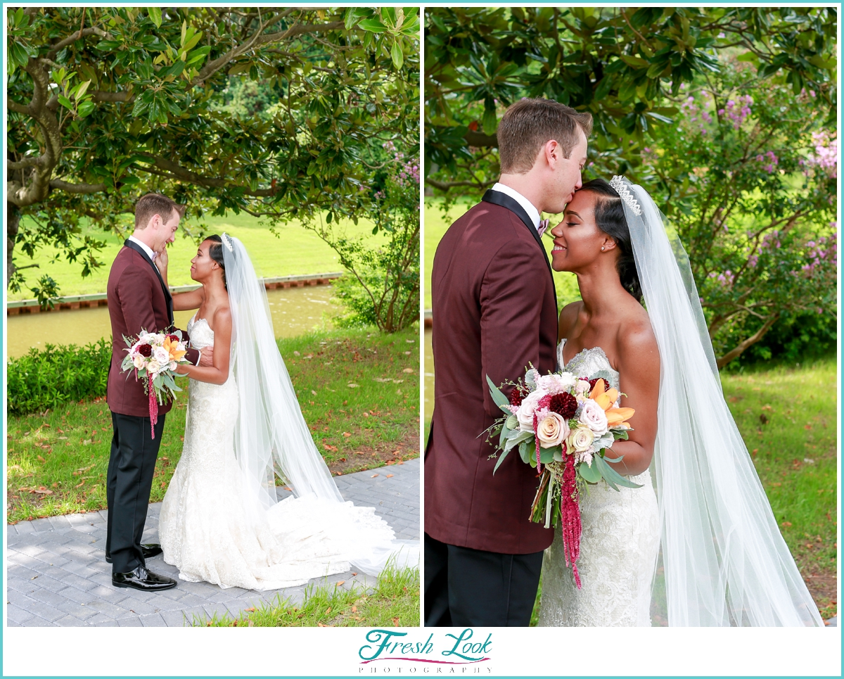 Norfolk Botanical Garden Wedding Photographer