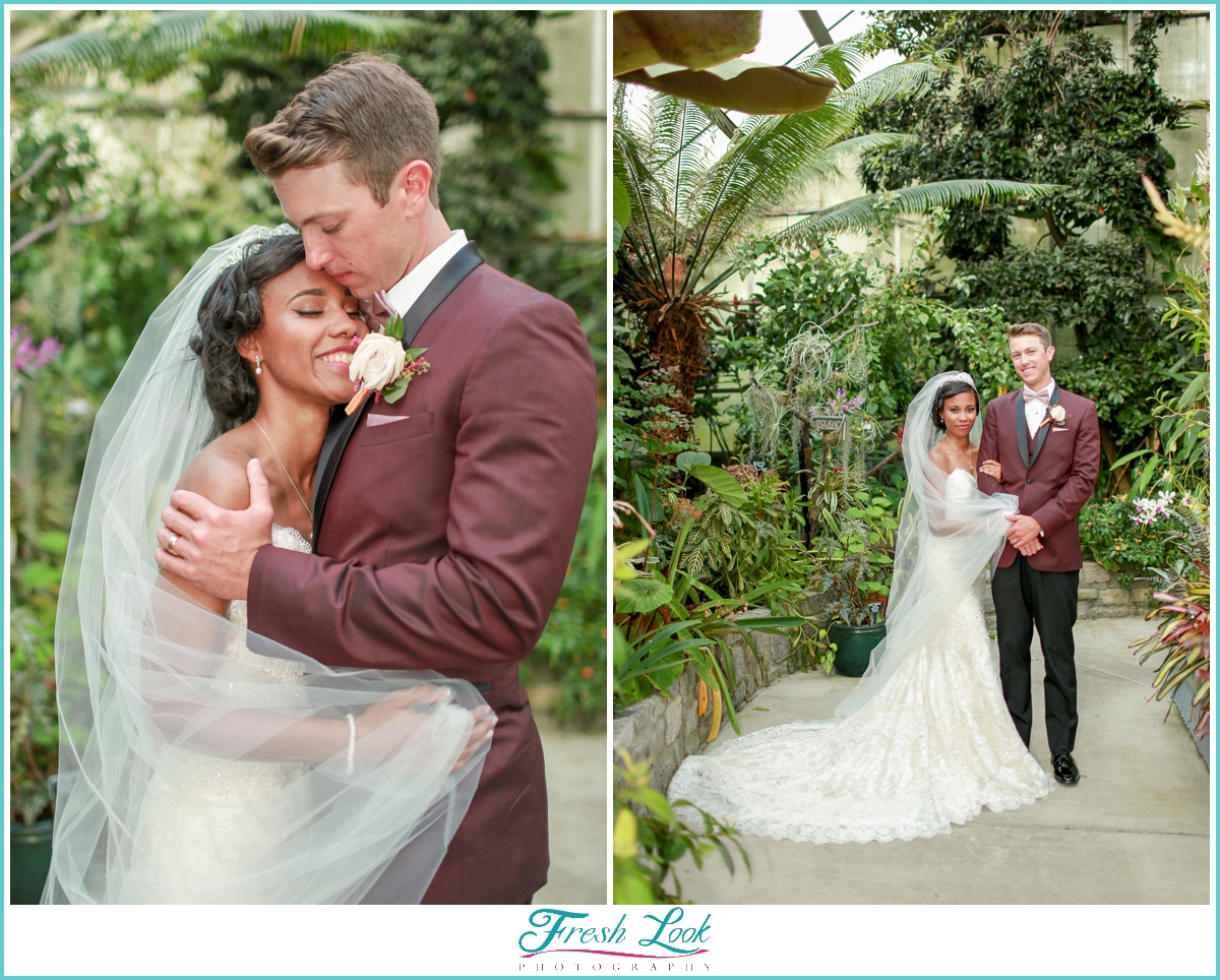 romantic tropical wedding pictures
