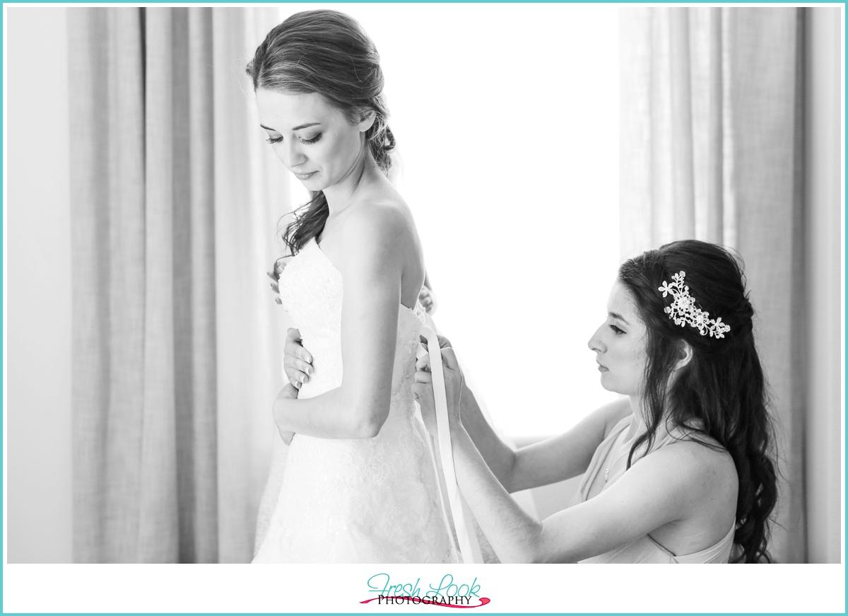 Cavalier Hotel Bride Suite