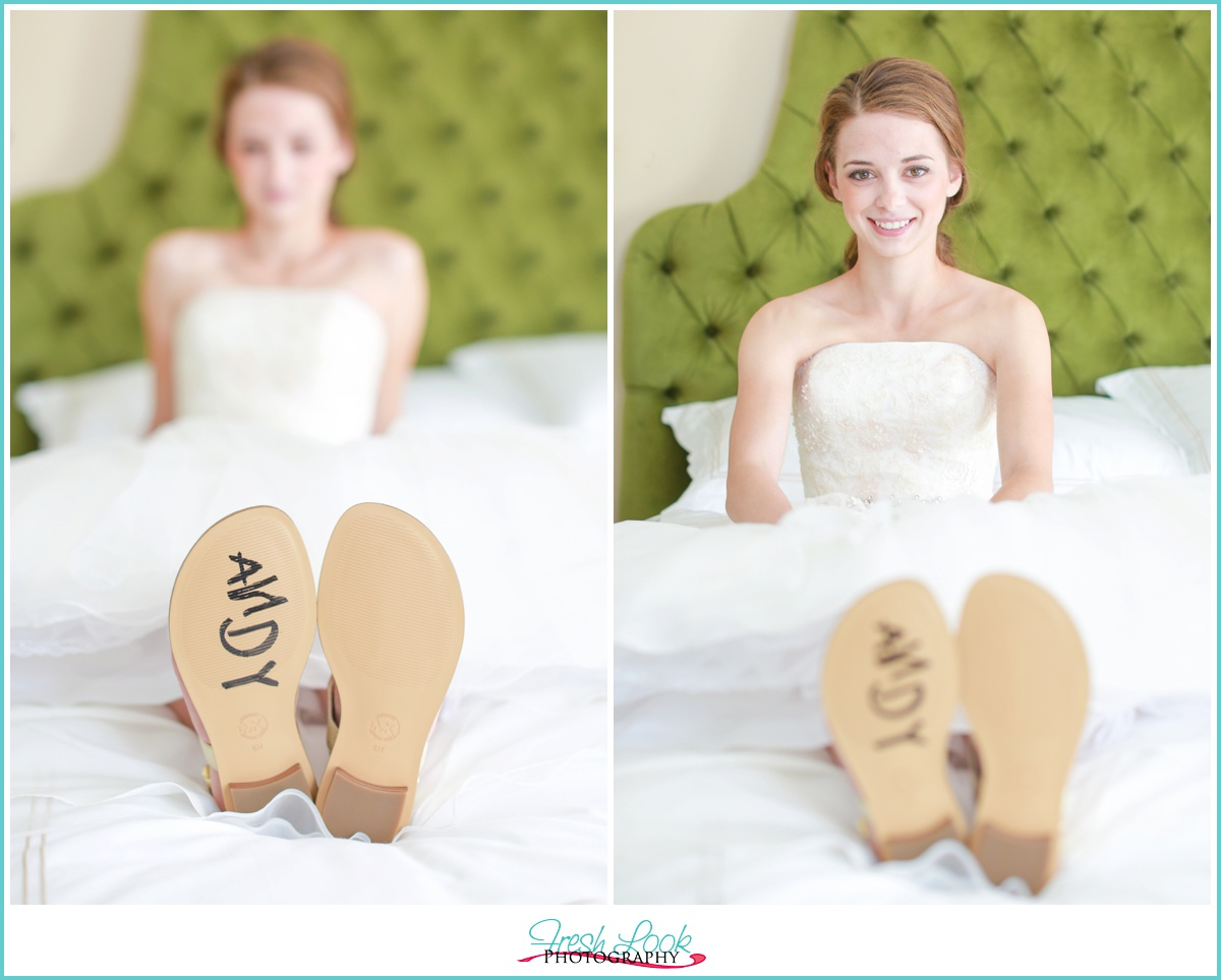 Toy Story Andy wedding shoes