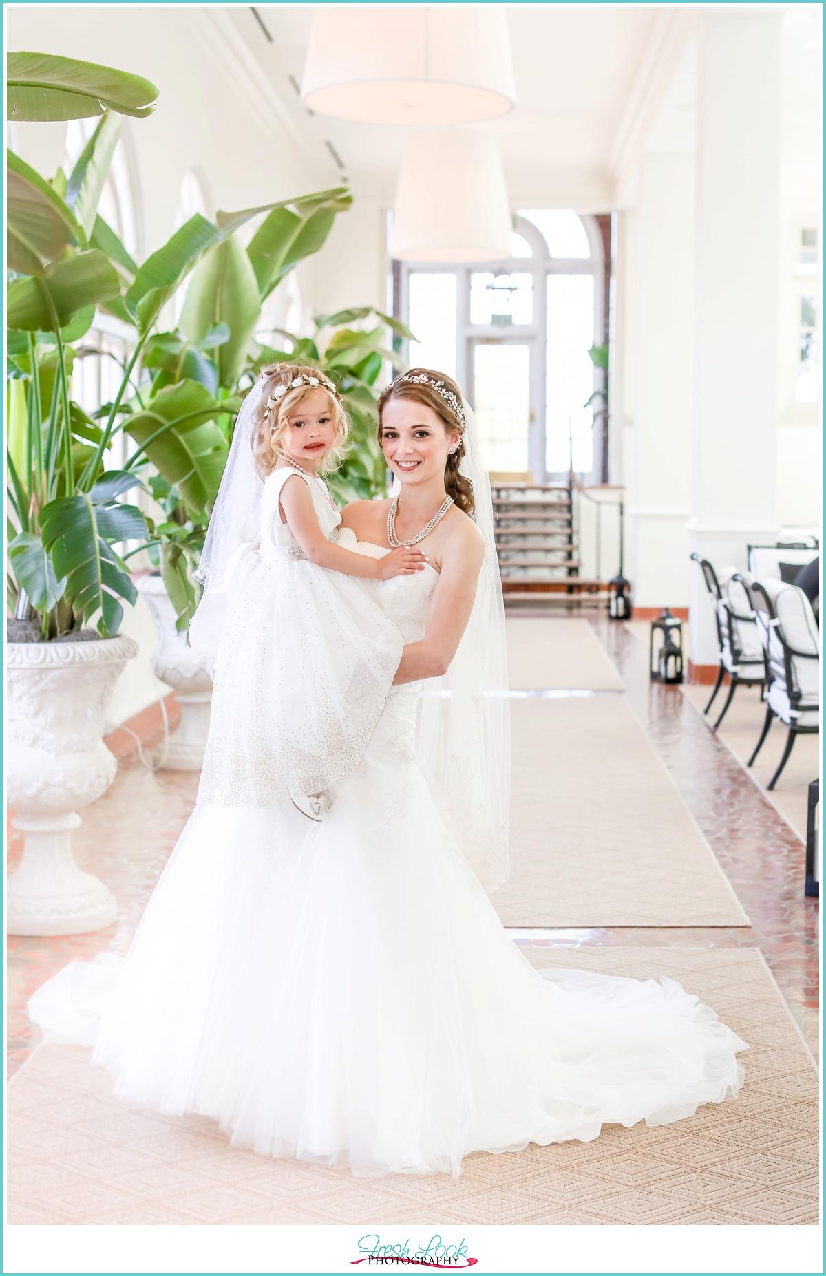 Cavalier Hotel Wedding Bride