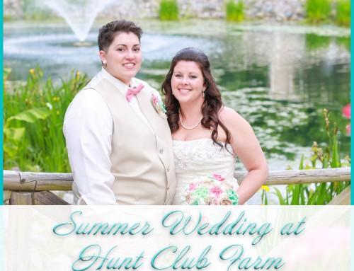 Hunt Club Farm Weddings | Jacquie+Kristin