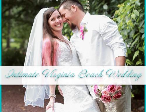 Intimate Virginia Beach Wedding | Luke+Jenn