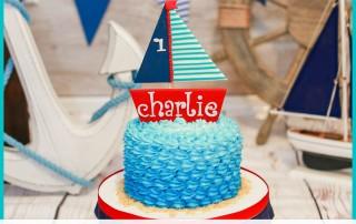 Nautical Cake Smash