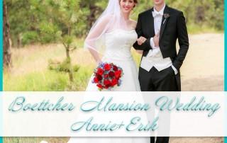 Boettcher Mansion Wedding