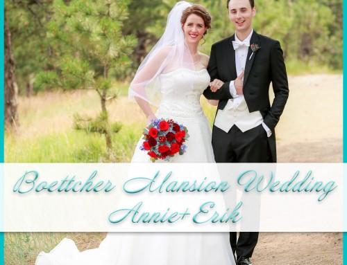 Boettcher Mansion Wedding | Annie+Erik