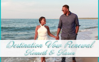 Destination Vow Renewal Photography