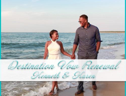 Destination Vow Renewal Photography | Kenneth+Karen