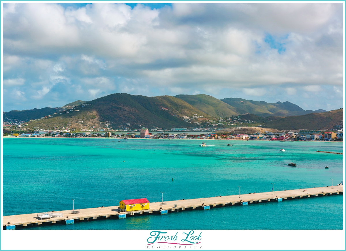 Cruise Port at St Maarten