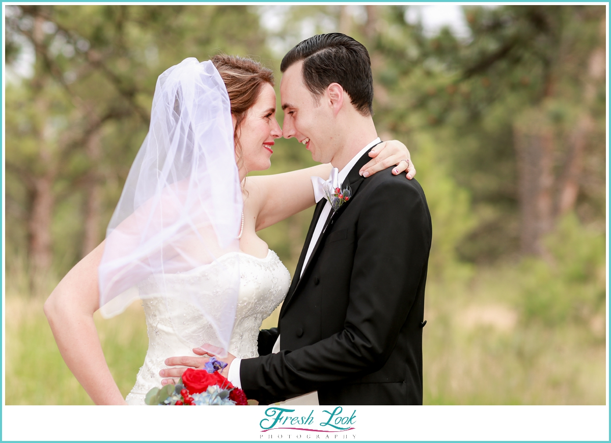 romantic Colorado wedding
