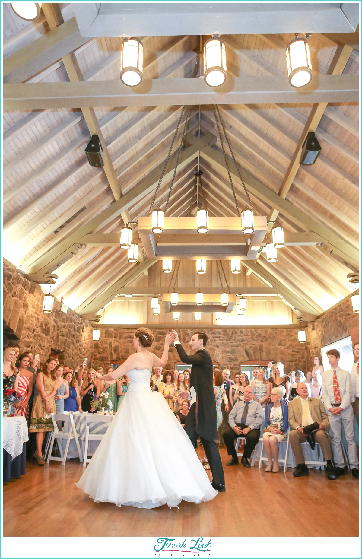first dance at Historic Boettcher Mansion