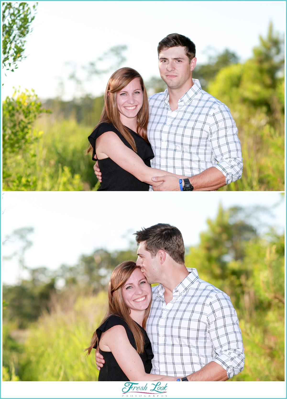 engagement photos at First Landing