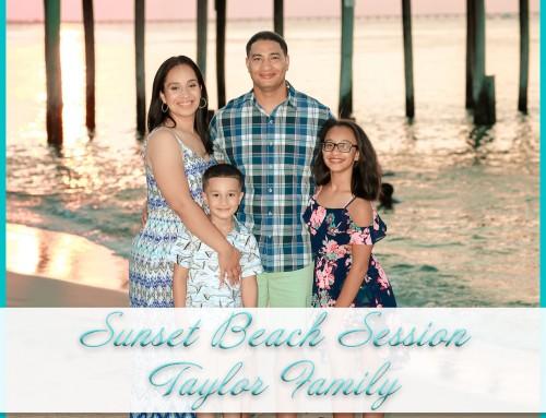 Sunset Beach Photos | Taylor Family
