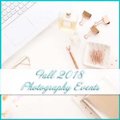 Fall 2018 free Photography Events