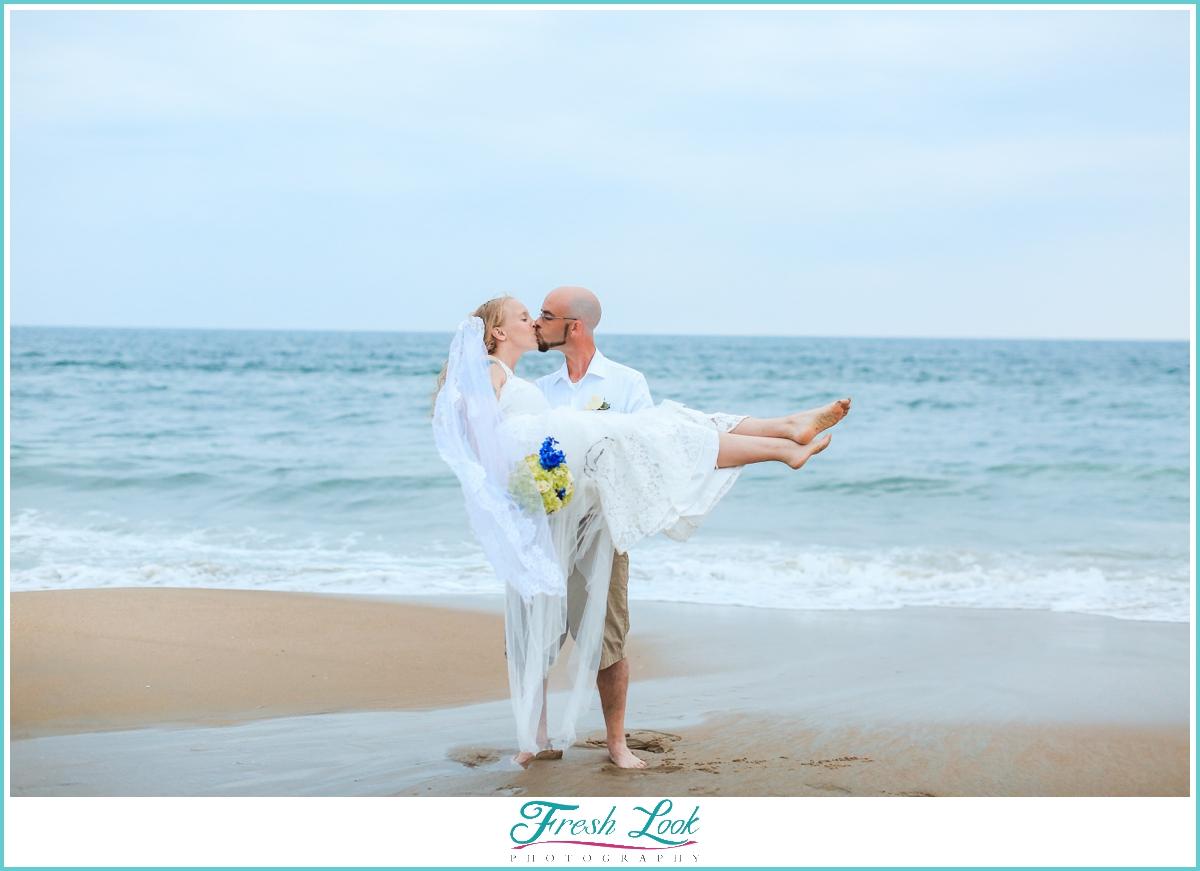Virginia Beach wedding portraits