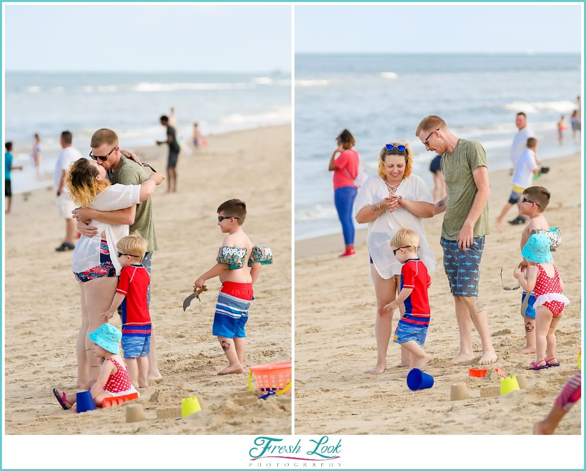 I said yes, beach proposal