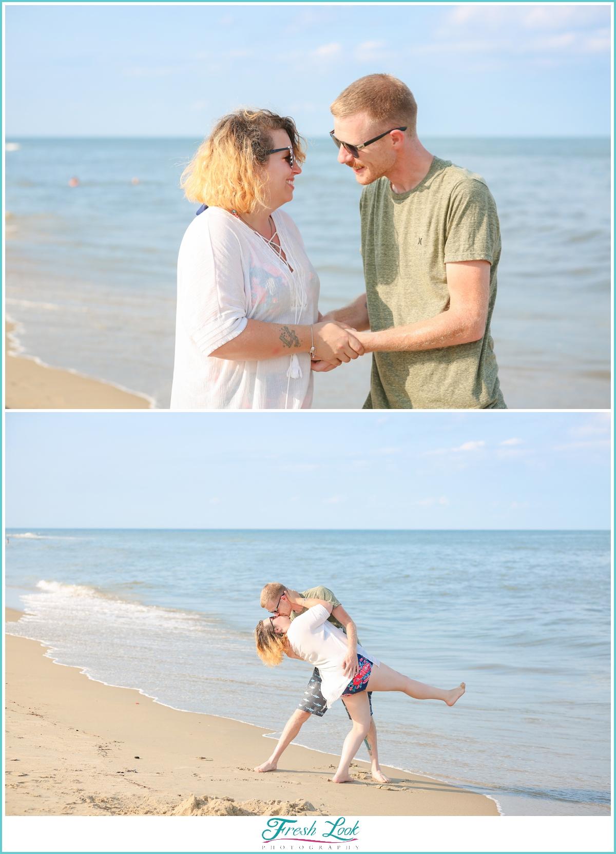 just got engaged photo shoot