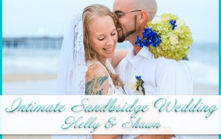 Intimate Sandbridge Beach Wedding