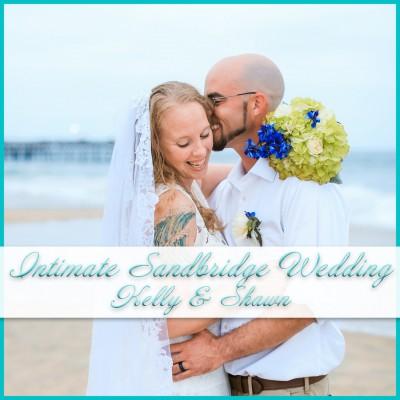 Intimate Sandbridge Beach Wedding