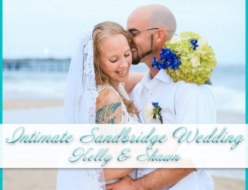 Intimate Sandbridge Beach Wedding | Kelly+Shawn