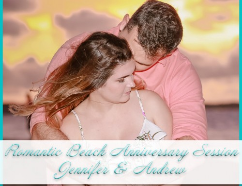 Romantic Beach Anniversary Session | Jennifer+Andrew
