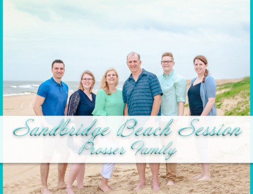 Sandbridge Beach Photo Shoot | Prosser Family