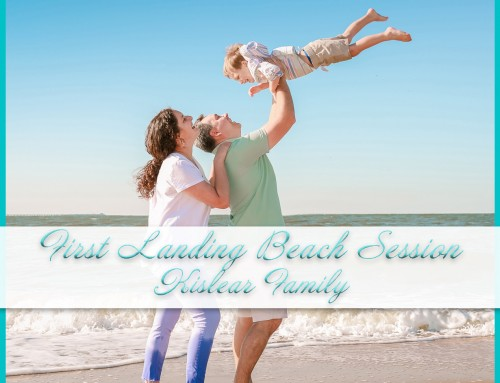 First Landing Beach Session | Kislear Family