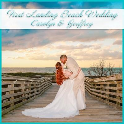 First Landing Beach Wedding