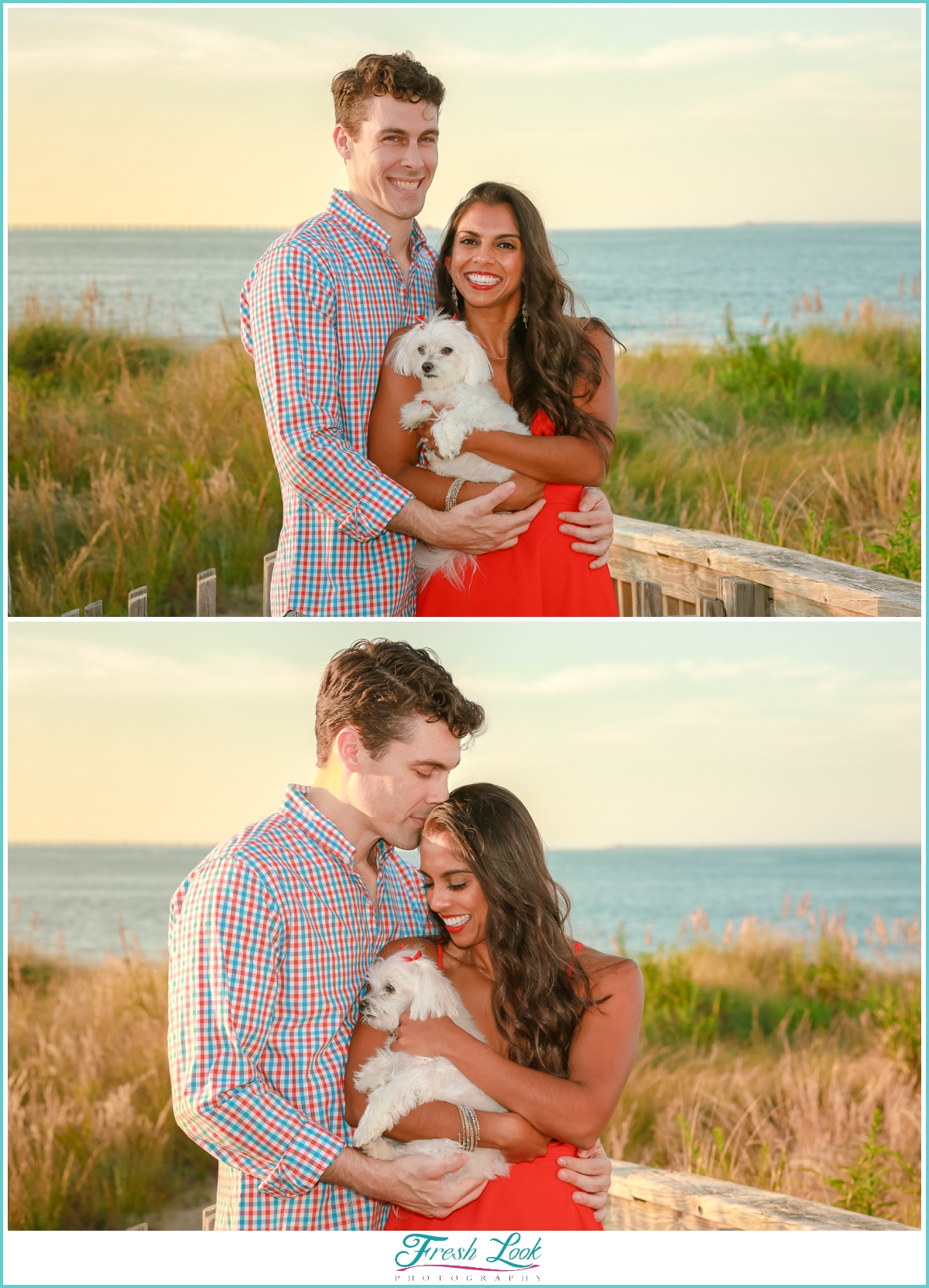 couple in love engagement photos