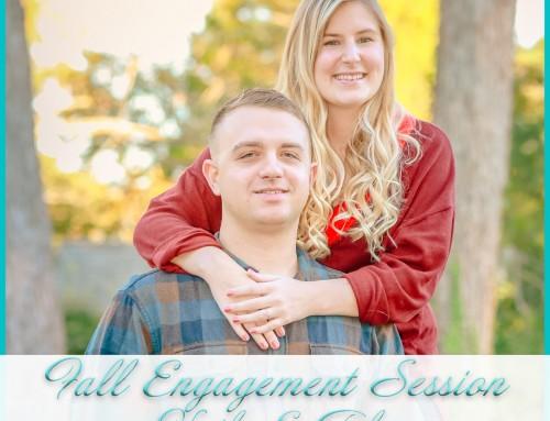 Virginia Beach Fall Engagement Session | Kaila+Tyler