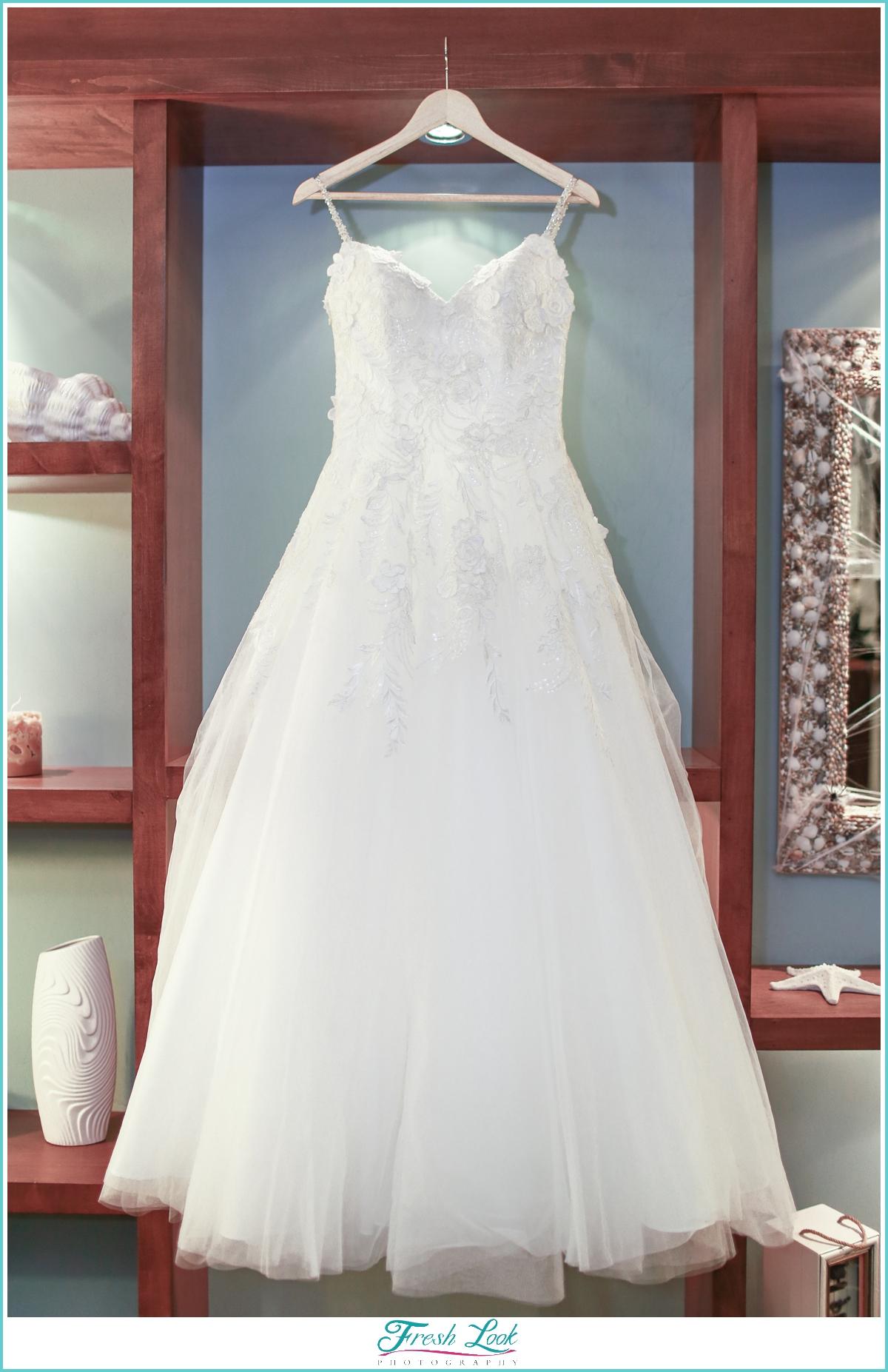Bridal Gown detail shot