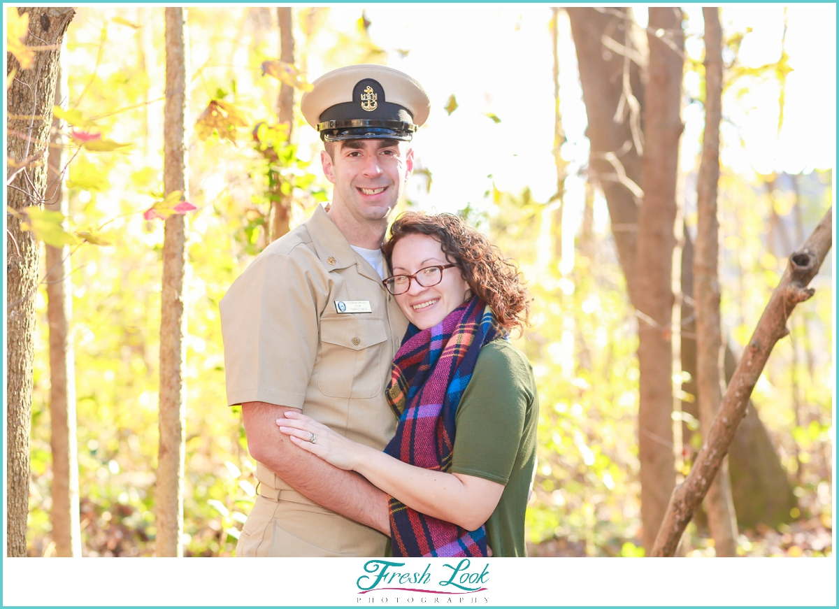 military spouse photo shoot