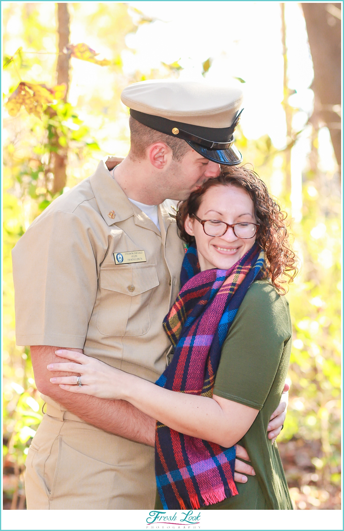 romantic military spouse photo shoot