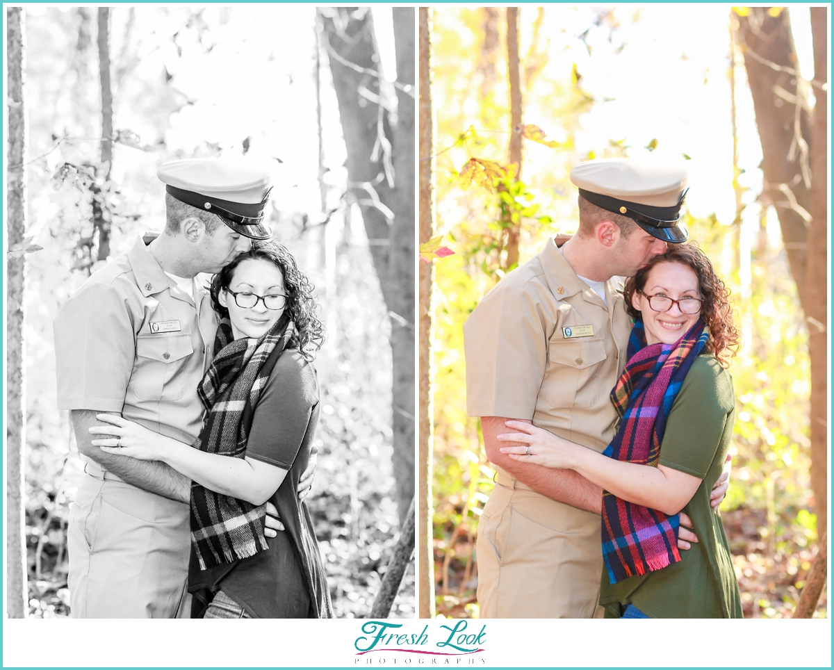 Navy wife photo shoot