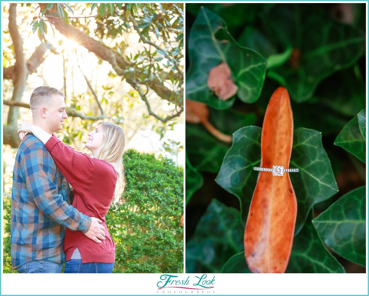 romantic fall photo shoot