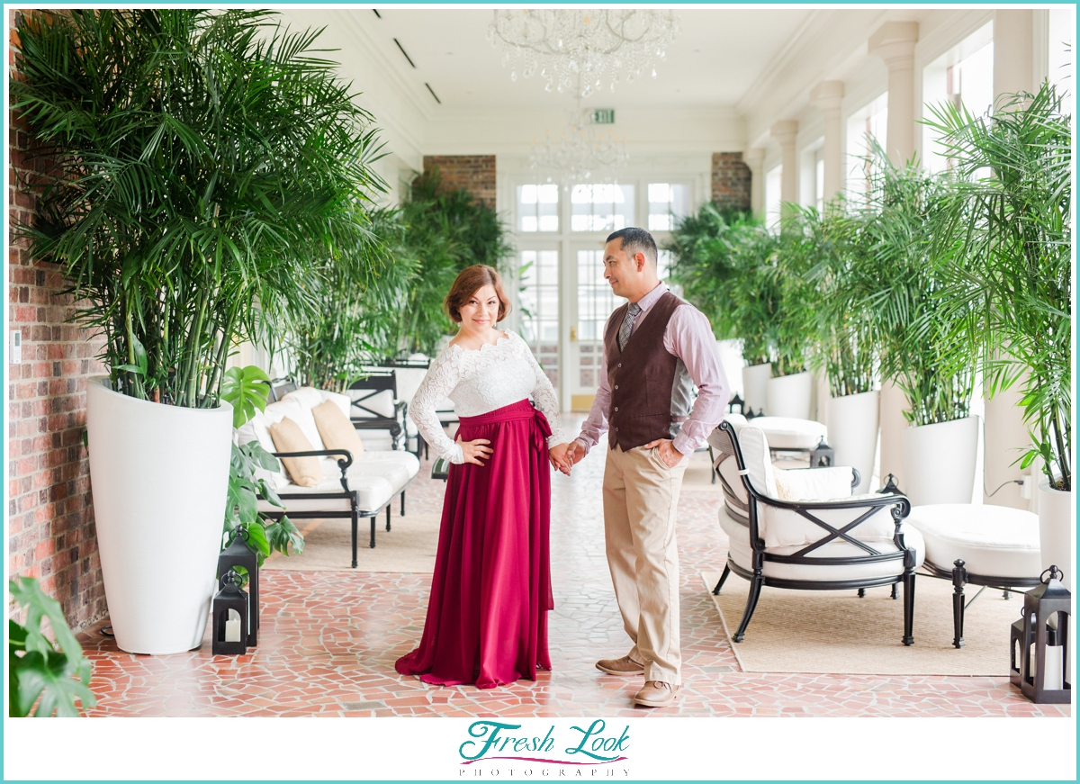 Cavalier Hotel Engagement Session