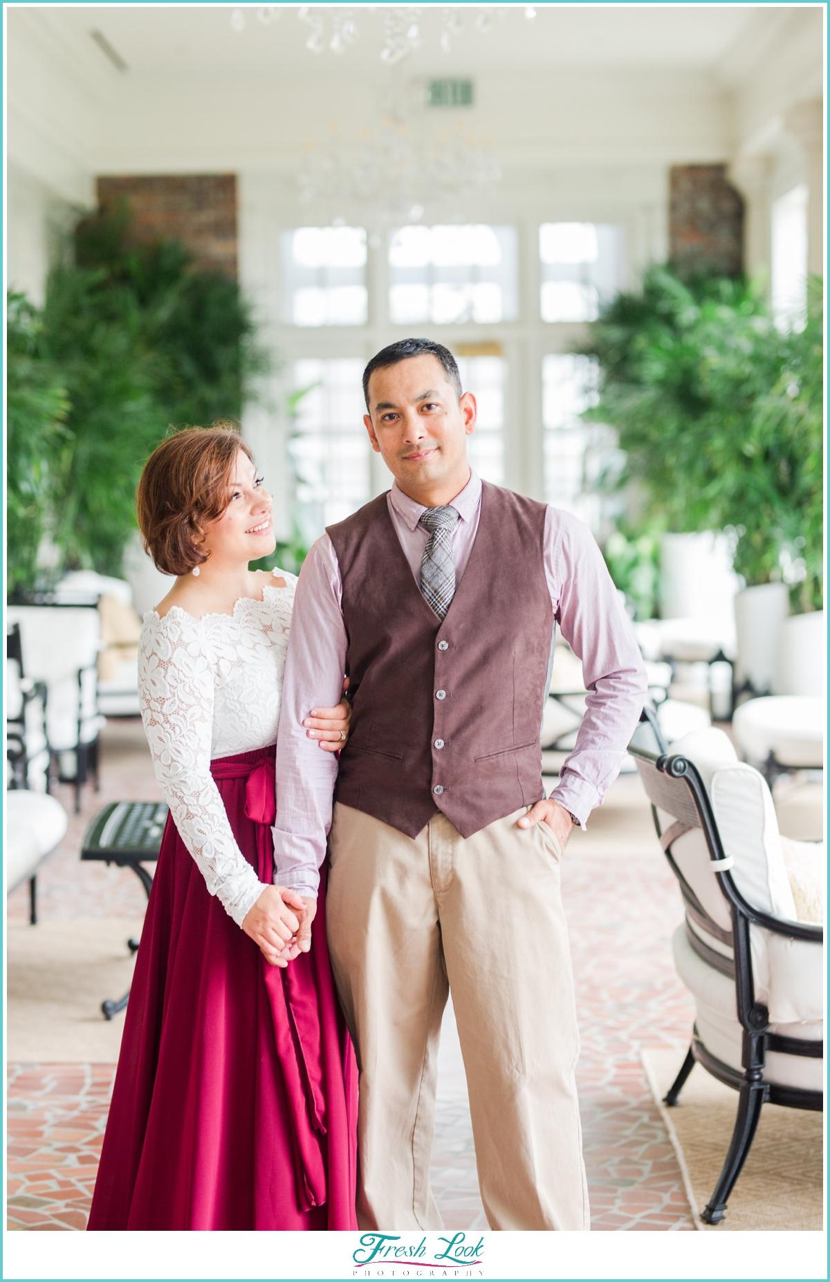 Romantic Couples anniversary photos