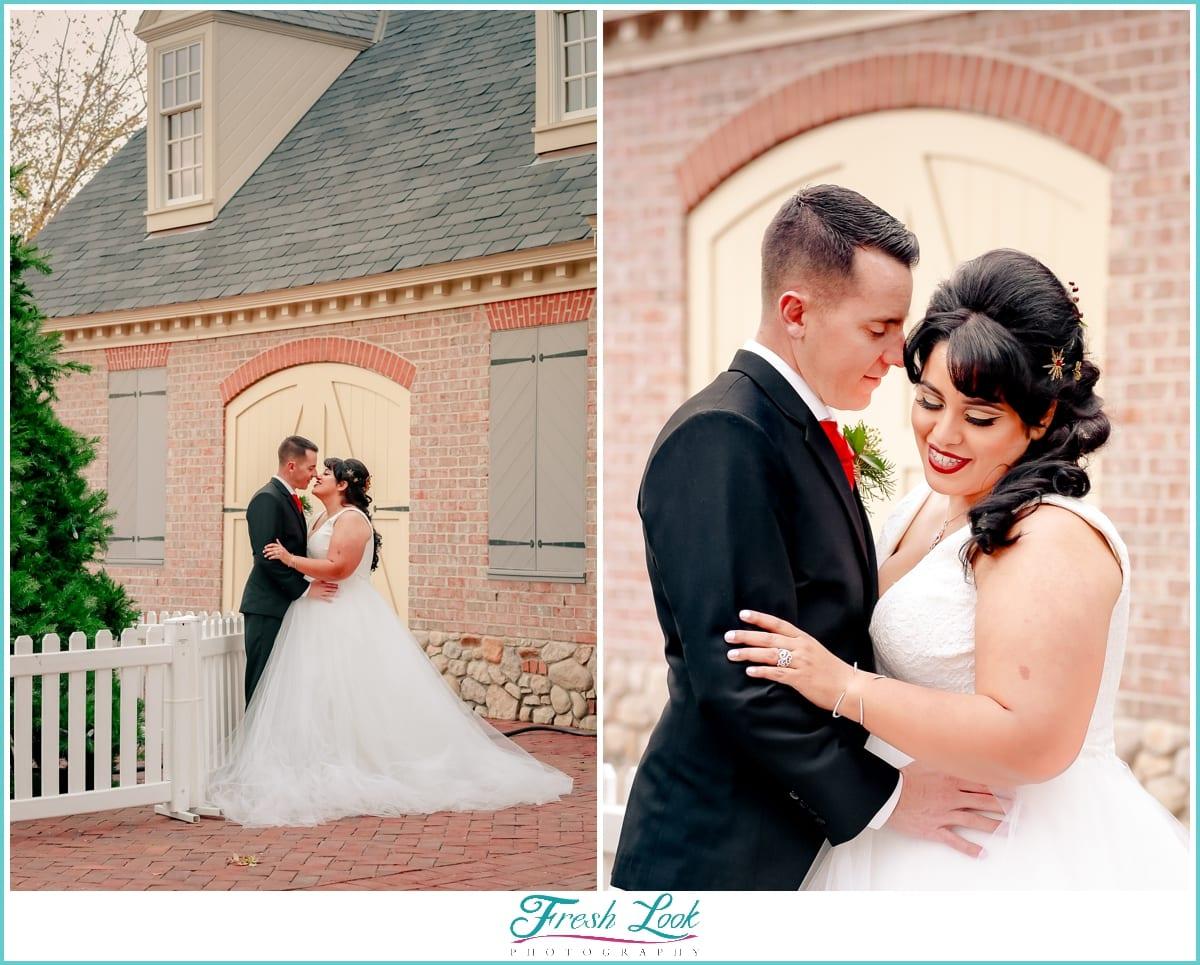 romantic Virginia wedding photography