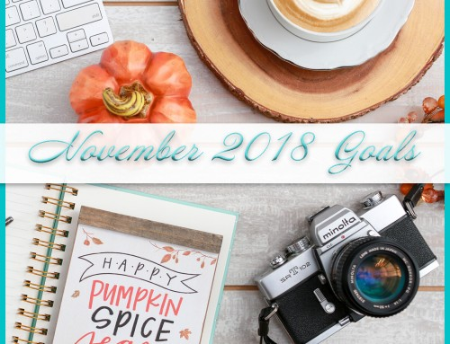 November 2018 Goals | Personal & Professional