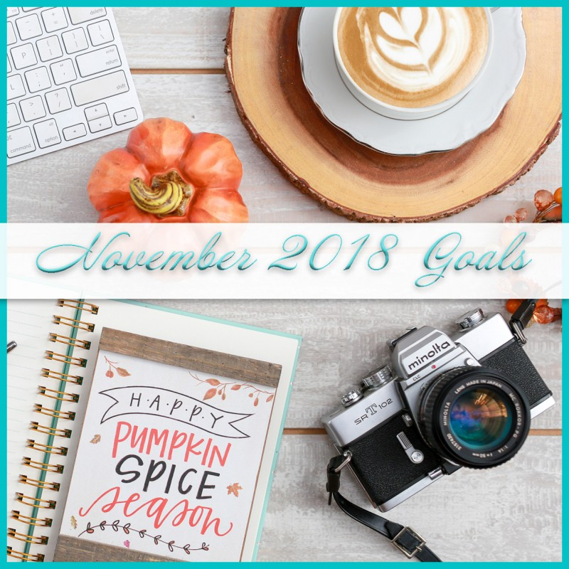 November 2018 Goals