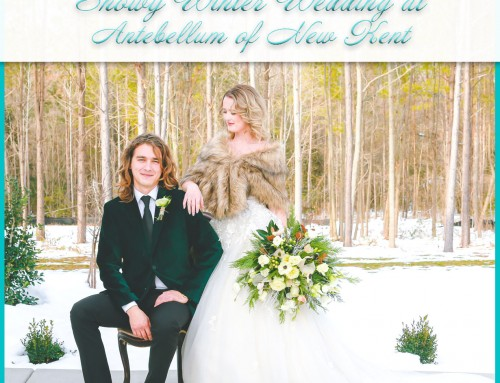 Antebellum of New Kent Wedding | Evergreen Winter Elegance