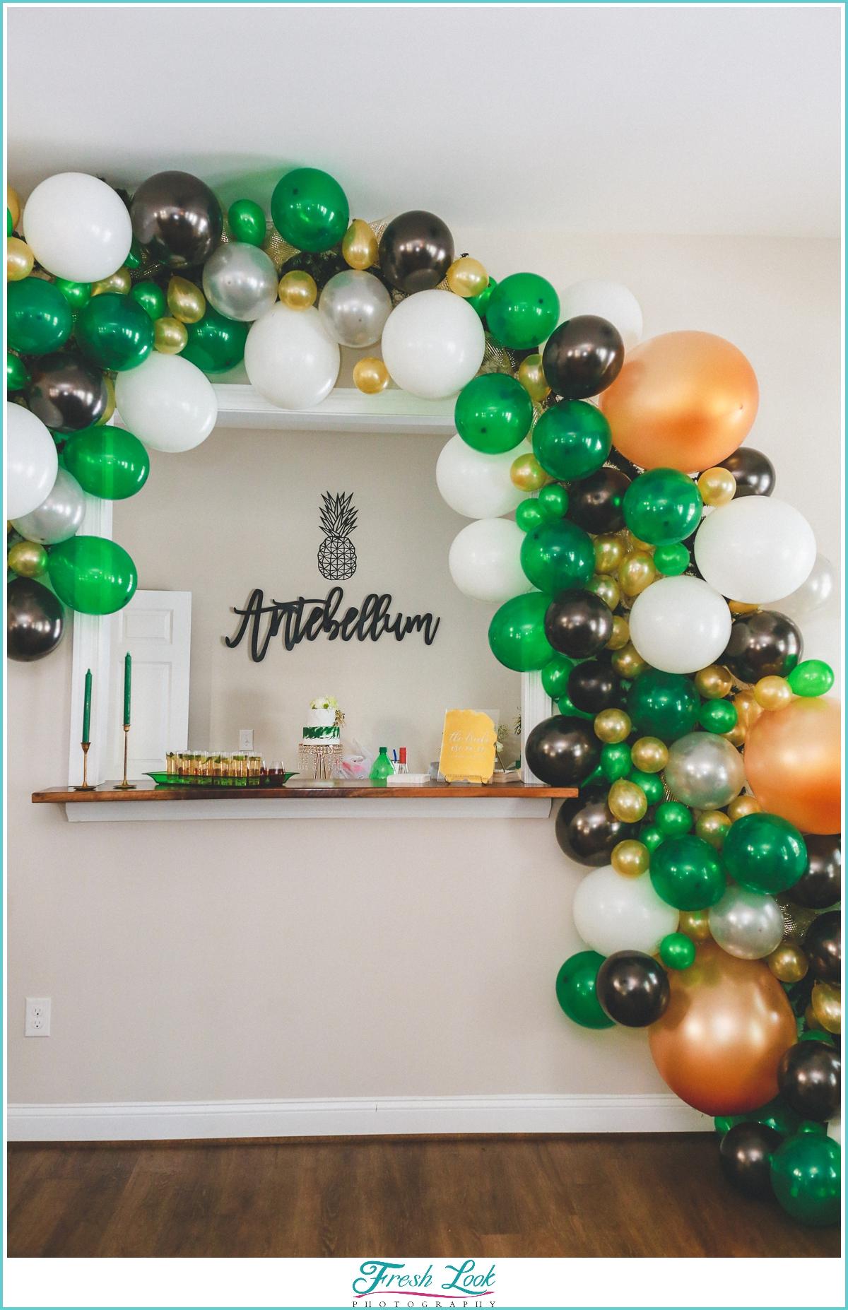 Balloon Arch wedding decor